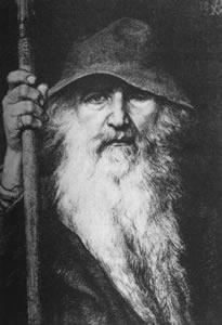 Odin the Wanderer, from Norse mythology