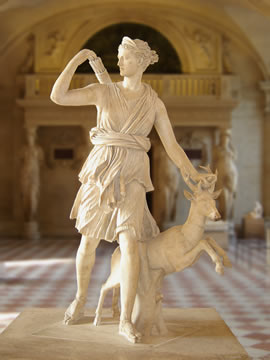 Diana, ancient Roman goddess of the hunt