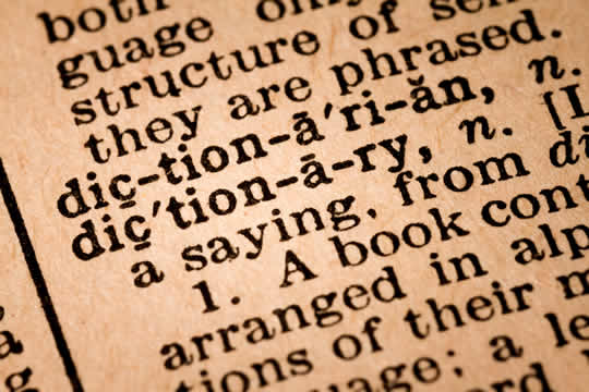 sample dictionary entry