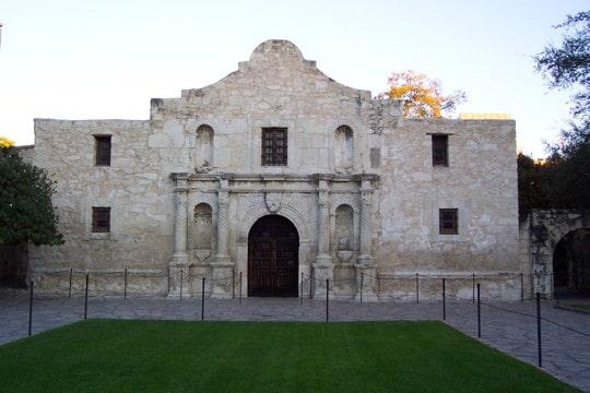 photograph of the Alamo in San Antonio