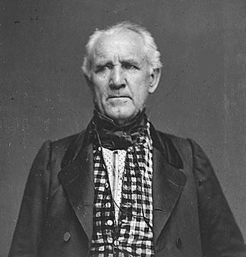 portrait of Sam Houston