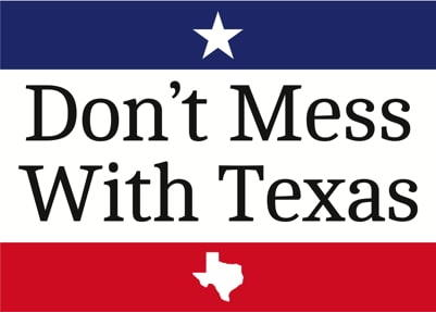 """the """"Don't Mess With Texas"""" logo"""